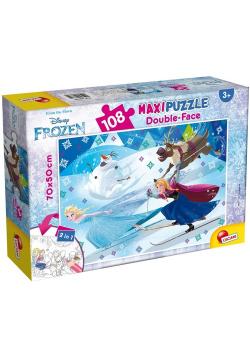 Puzzle dwustronne Maxi 108 Frozen