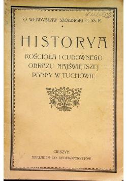 Historya kościoła i cudownego obrazu Najświętszej Panny w Tuchowie 1920 r