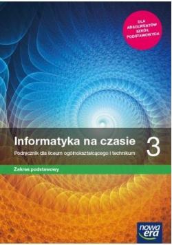 Informatyka LO 3 Na czasie Podr. ZP NE