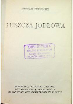 Puszcza Jodłowa 1926 r.