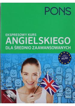 Ekspresowy kurs angielskiego dla średnio zaawansowanych A2 / B1 + 2 płyty CD