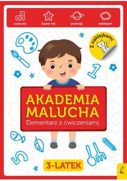 Akademia Malucha Elementarz z ćwiczeniami 3-latek