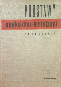 Podstawy marksizmu - leninizmu