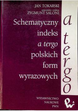 Schematyczny indeks a tergo polskich form wyrazowych