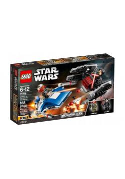 Lego STAR WARS 75196 A-Wing kontra TIE Silence