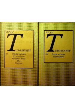 Turgieniew Dzieła wybrane tom II i III