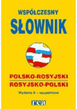 Współczesny słownik polsko rosyjski rosyjsko polski