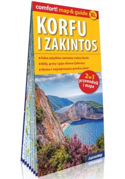 Comfort! map&guide XL Korfu i Zakintos 2w1 w.2020