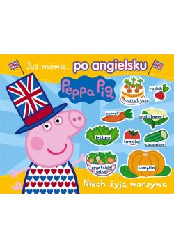 Peppa Pig. Angielski z Peppą. Niech żyją warzywa