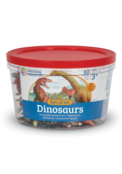 Zestaw 60szt-Dinozaury, Figurki do nauki liczenia