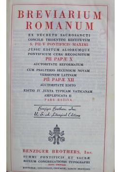 Breviarium Romanum 1946 r.
