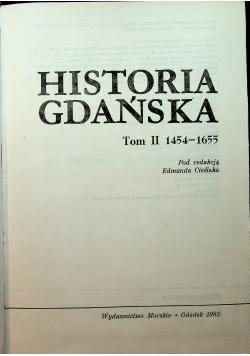 Historia Gdańska Tom II 1454 - 1655