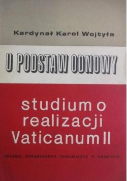 U podstaw odnowy Studium o realizacji Vaticanum II