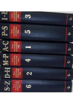 Nowa encyklopedia powszechna Tom od 1 do 6