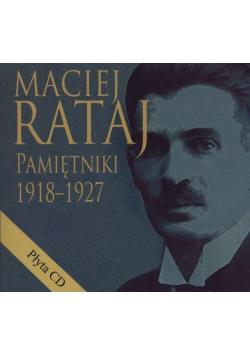 Maciej Rataj. Pamiętniki 1918-1927 + CD