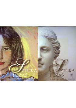 Sztuka i czas 2 książki