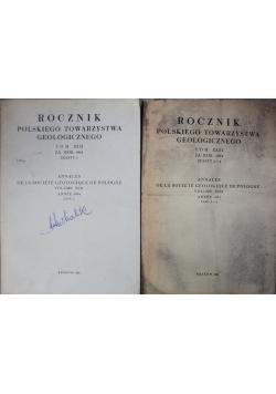 Rocznik polskiego towarzystwa geologicznego tom XXXI zeszyt od 2 do 3