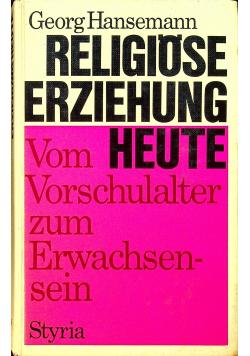 Religiose erziehung heute