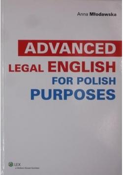 Advanced Legal English for Polish Purposes