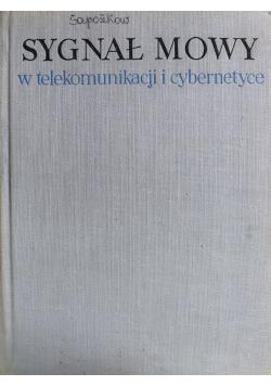 Sygnał mowy w telekomunikacji i cybernetyce