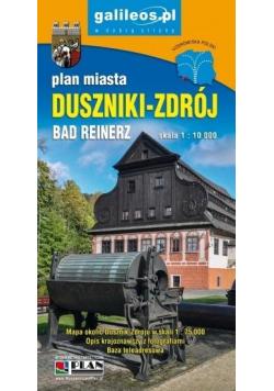 Plan miasta - Duszniki-Zdrój 1: 10 000