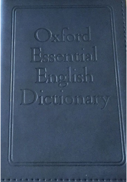 Oxford Essential English Dictionary