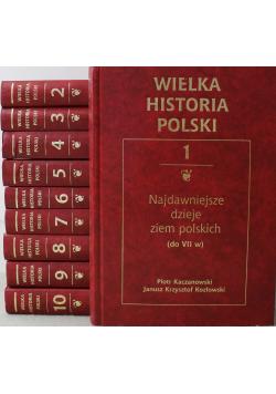 Wielka historia Polski Tom I do X