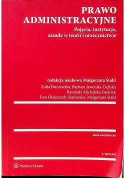 Prawo administracyjne Pojęcia instytucje zasady