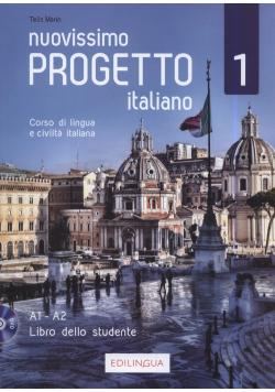 Nuovissimo Progetto italiano 1 Libro dello studente + DVD