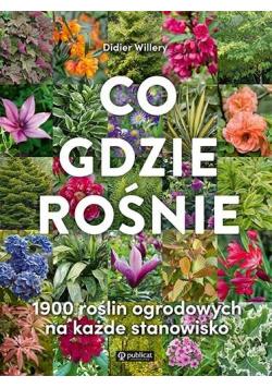 Co gdzie rośnie. 1900 roślin ogrodowych