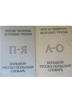 Wielki słownik rosyjsko polski 2 tomy