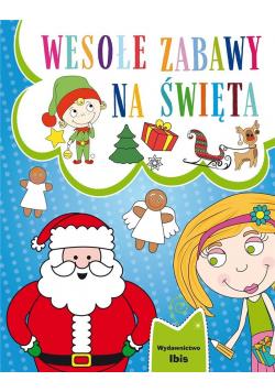 Wesołe zabawy na Święta + naklejki
