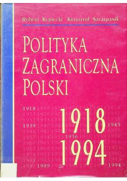 Polityka zagraniczna Polski 1918 1994