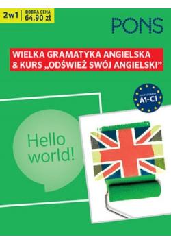 Odśwież swój angielski Kurs plus gramatyka A1 C1 PAK2 Nowa