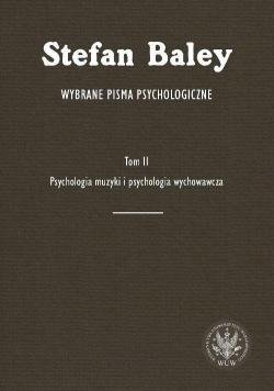 Wybrane pisma psychologiczne T.2