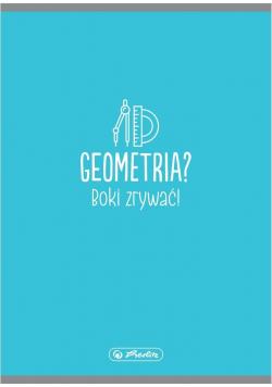 Zeszyt A5/32K gładki Geometria (10szt)