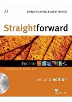 Straightforward Second edition Beginner A1 WB + CD