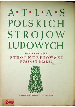Atlas polskich strojów ludowych Strój kurpiowski