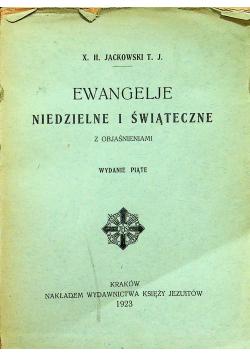 Ewangelje niedzielne i świąteczne 1923 r