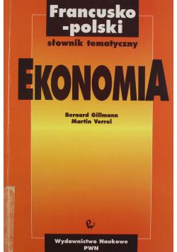 Francusko polski słownik tematyczny Ekonomia