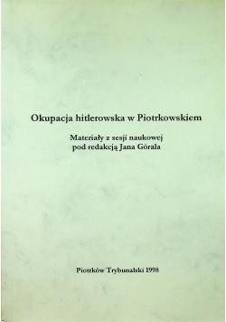 Operacja hitlerowska w Piotrkowskiem
