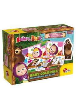 Masza i Niedźwiedź Kolorowanki dla dzieci 2