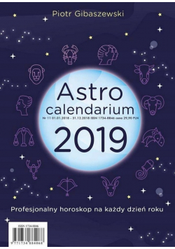 Astrocalendarium 2019