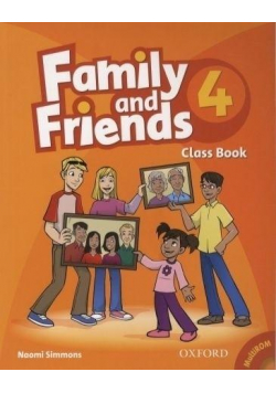 Family and Friend 4 Class Book