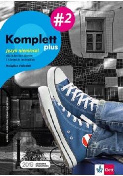 Komplett plus 2 Język niemiecki Książka ćwiczeń