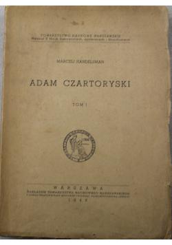 Adam Czartoryski Tom 1 1948 r