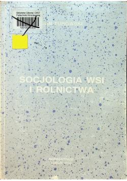 Socjologia wsi i rolnictwa