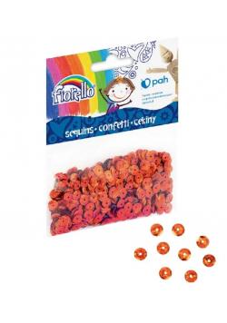 Confetti cekiny kółko miedziane FIORELLO
