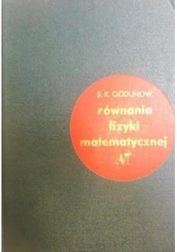 Równania fizyki matematycznej