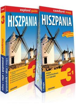 Explore!guide Hiszpania 3w1 przewodnik+atlas+mapa